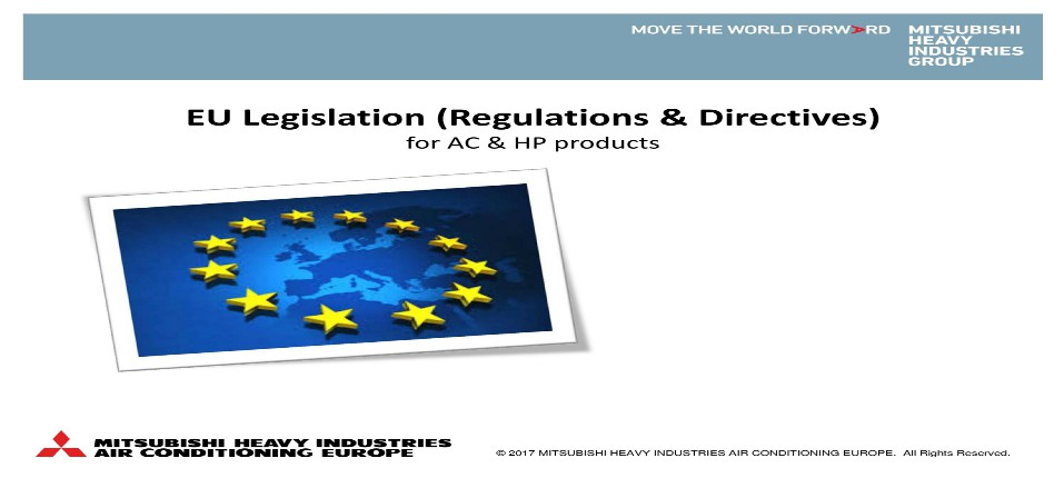 New EU Regulations LOT6 & LOT21 / (EU) No 2016/2281